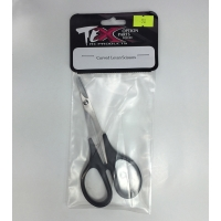 Curved lexan scissors
