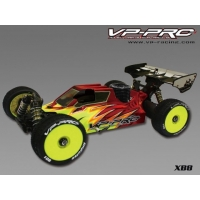 VP-PRO Clear car body for XB8