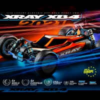 XRAY XB4'21 1/10 4WD Electric Buggy Kit