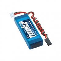 LRP VTEC 2S LiPo Flat Receiver Battery Pack (7.4V/2500mAh)