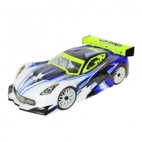 VP-Pro 1/8 GT Body Shell (Clear) (GT03)