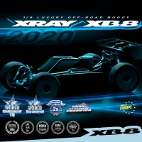 XRAY XB8 2020 Spec 1/8 Off-Road Nitro Buggy Kit
