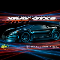 XRAY GTX8.3 2021 - 1/8 Luxury Nitro On-Road GT Car Kit