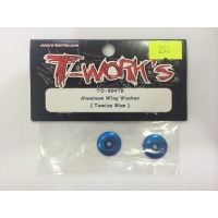 Aluminum wing washer (tamiya blue)