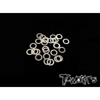 TA-095-3 3mm Shim Washer Set ( 0.05,0.1,0.2,0.3mm each 10pcs. )