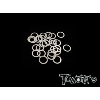 TA-095-6 6mm Shim Washer Set ( 0.05,0.1,0.2,0.3mm each 10pcs. )