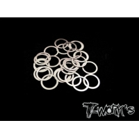 TA-095-8 8mm Shim Washer Set ( 0.05,0.1,0.2,0.3mm each 10pcs. )