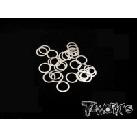 TA-095-5 5mm Shim Washer Set ( 0.05,0.1,0.2,0.3mm each 10pcs. )