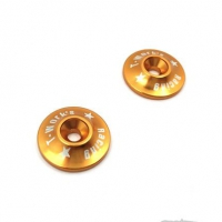 T-Work's 1/8 Aluminum Wing Washer (Gold)