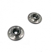 T-Work's 1/8 Aluminum Wing Washer (Grey)