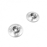 T-Work's 1/8 Aluminum Wing Washer (Silver)
