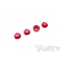 T-WORK's Light Weight Self-Locking Wheel Nut With Cover P1.25 ( For HN, IGT8 )