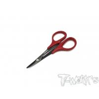 T-WORK's Black Titanium Nitride Lexan Curved Scissor
