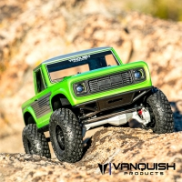 Vanquish VS4-10 Ultra Clear Anodized - Origin Halfcab