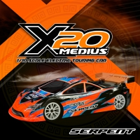 Serpent Medius X20 '21 1/10 Touring Car