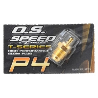 "O.S. P4 Gold Turbo Glow Plug ""Super Hot"""