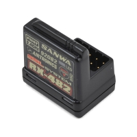 Sanwa/Airtronics RX-482 2.4GHz 4-Channel FHSS-4 SSL Telemetry Receiver w/Internal Antenna