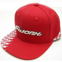 SWORKz G6 Red Flat Style Hat