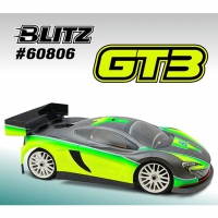 BLITZ 1/8 GT3 Body Shell (Clear)