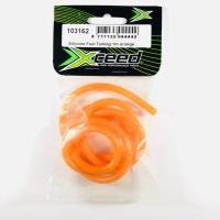 Xceed Silicone Fuel Tubing 1 m Orange