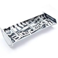 Bittydesign 1/8 Buggy & Truggy plastic wing set (White)