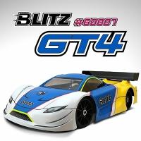 BLITZ 1/8 GT4 Body Shell (Clear)