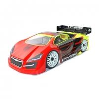 VP-Pro 1/8 GT Body Shell (Clear) (GT02)