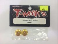 Aluminum wing washer (gold)