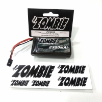 Team Zombie 6.6v 2300mAh For Futaba Radio Pack