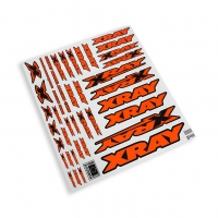 XRAY Sticker For Body - Neon Orange