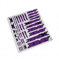 XRAY Sticker For Body - Purple
