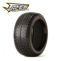 James Racing Y-Zip 1/8 Buggy Tire