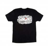 "AKA Racing ""Sidewall"" Short Sleeve Shirt (Black) (XL)"