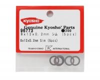 Kyosho 8x12x0.2mm Shim (5)