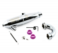 Jammin JP-4 Hard Anodized Off Road Tuned Pipe