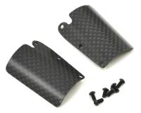 Sworkz Carbon S35-3 Series Pro-Composite Front Upper Downforce Wing Set