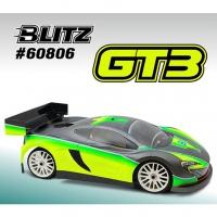 BLITZ 1/8 GT3 Body Shell (Clear)