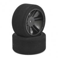 Xceed ITA-tyre-rim 1/8 FR Carbon Black sh 32/35/37/40