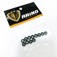 RHINO Washer M3 Conical Alu Black (12)