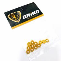 RHINO Washer M3 Conical Alu Gold (12)