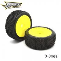 James Racing X-Cross 1/8 Buggy Tire (4)